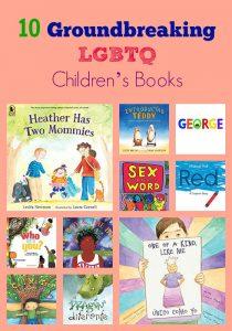 10 Groundbreaking LGBTQ Children's Books