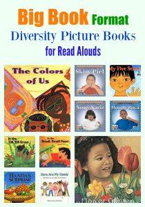 Big Book Format Diversity Picture Books