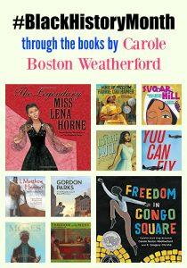 #BlackHistoryMonth by Carole Boston Weatherford