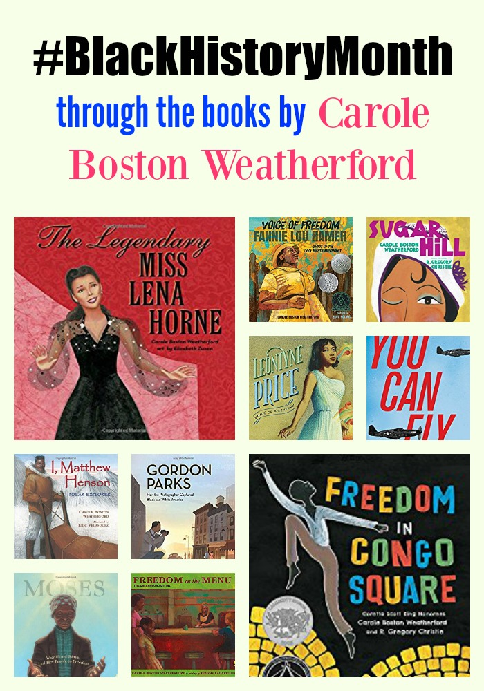 #BlackHistoryMonth by Carole Boston Weatherford