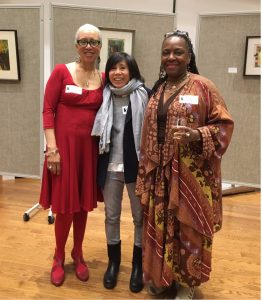 Carole Boston Weatherford and Ekua Holmes with Mia Wenjen