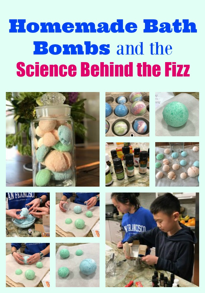 Homemade bath bombs and the science behind the fizz