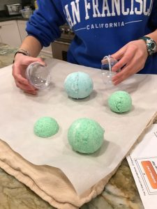 DIY Lush Bath Bombs and the Science Behind the Fizz