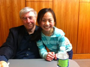 Jerry Spinelli and my daughte