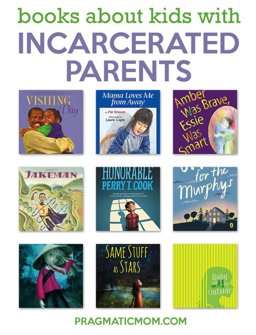 Books Featuring Kids with Incarcerated Parents