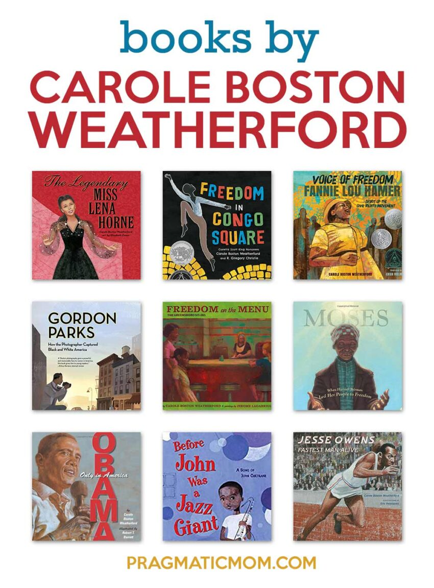 Books by Carole Boston Weatherford
