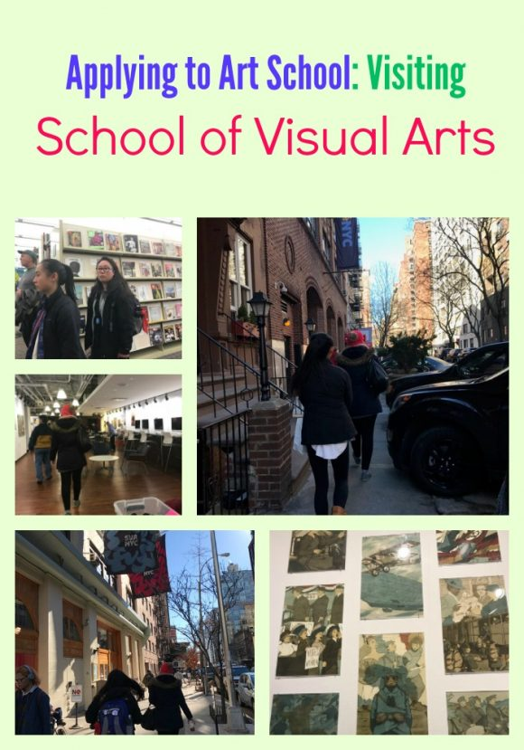 Applying to Art School: Visiting School of Visual Arts