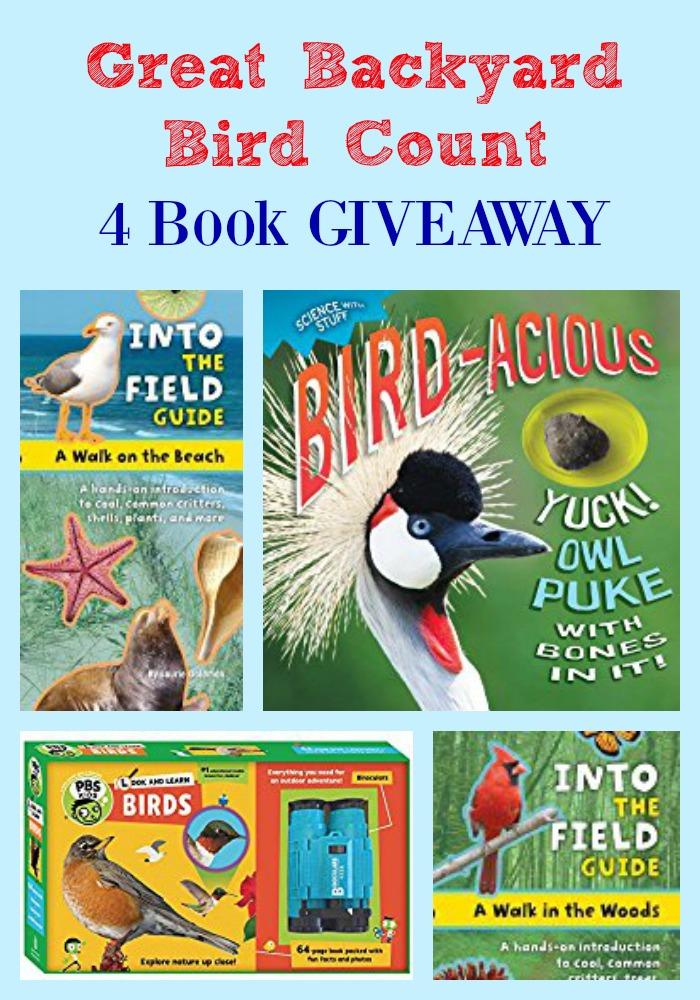 great backyard bird count 4 book giveawaypragmaticmom pragmaticmom