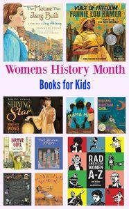 My Favorite #WomensHistoryMonth Books for Kids