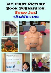 My First Picture Book Submission: Sumo Joe! #AmWriting