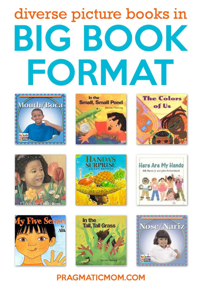 Big Book Format Diversity Picture Books