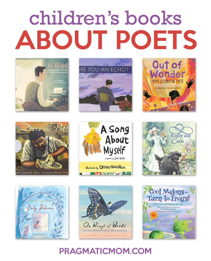 Poets and Their Poetry Books for Kids