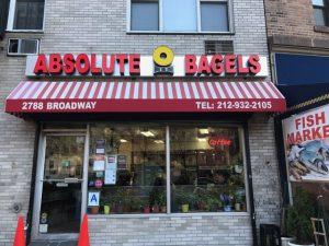 best bagel in NYC Absolute Bagel in Harlem