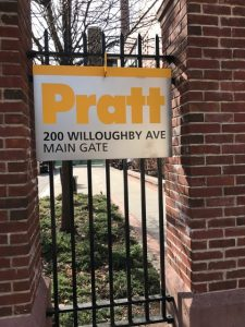 Visiting Pratt Institute
