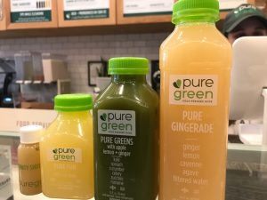 Pure Green pressed juice NYC