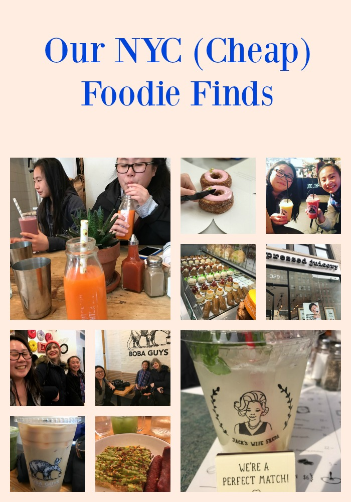 Our NYC (Cheap) Foodie Finds