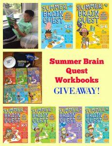 #SummerBrainQuest Workbooks GIVEAWAY!