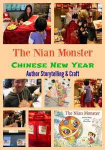 The Nian Monster Chinese New Year Author Event
