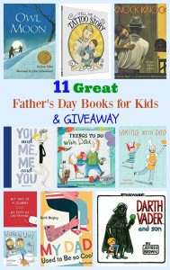 11 Great Father's Day Books for Kids & GIVEAWAY