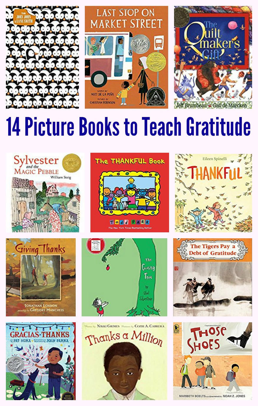 14 Picture Books to Teach Gratitude