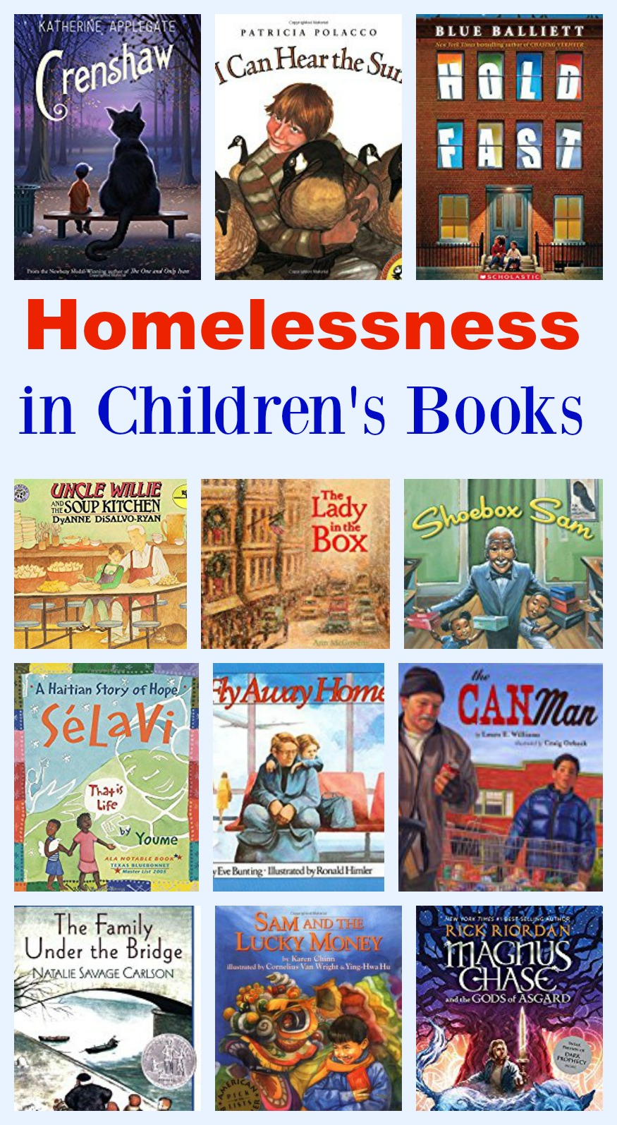 Homelessness In Childrens Books Pragmaticmom