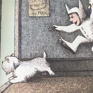 spot white scottie dog in Maurice Sendak's books