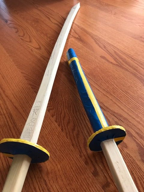 wooden sword woodworking projects for kids