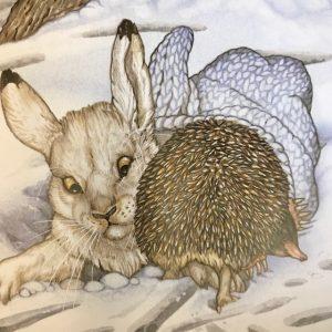 Jan Brett has hedgehog in all her books