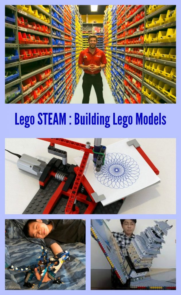 Lego STEM Creativity: Building Lego Models
