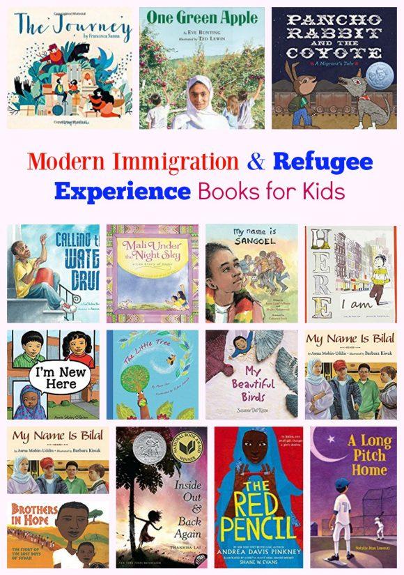 Modern Immigration Books for Kids