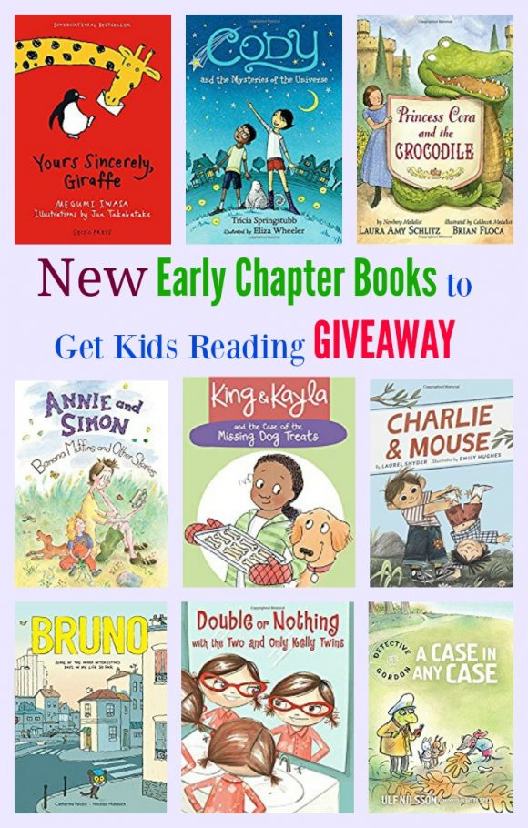 New Early Chapter Books to Get Kids Reading GIVEAWAY