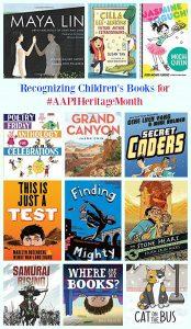 Recognizing Children's Books for #AAPIHeritageMonth
