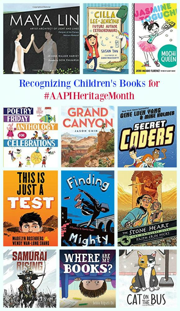Recognizing Children's Books for #AAPIHeritageMonth