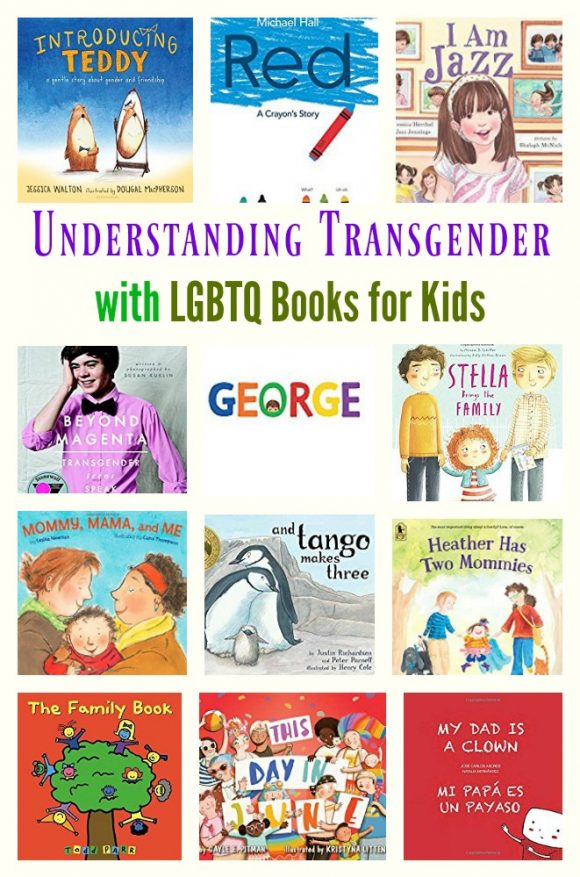 Understanding Transgender with LGBTQ Books for Kids