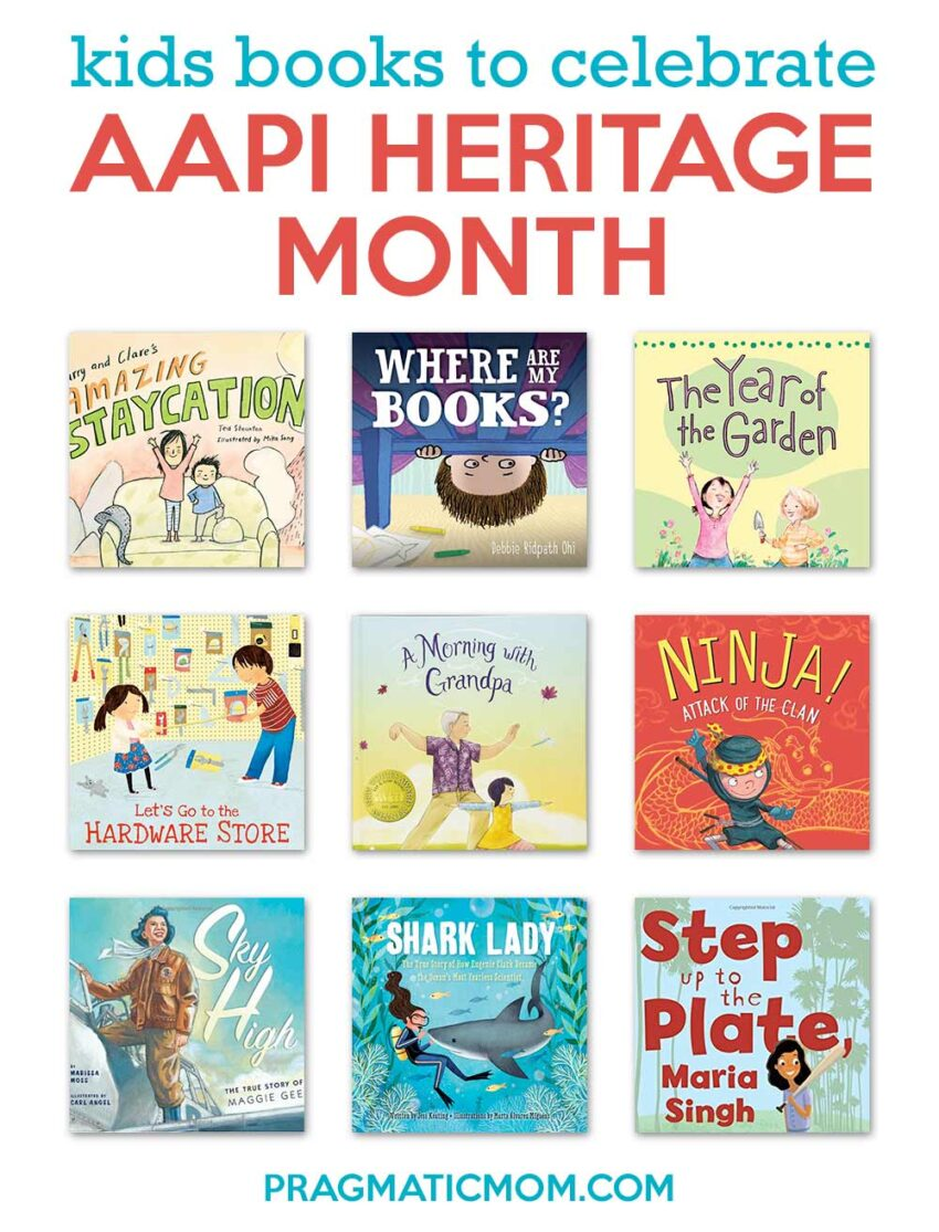 children's books to celebrate AAPI Heritage Month