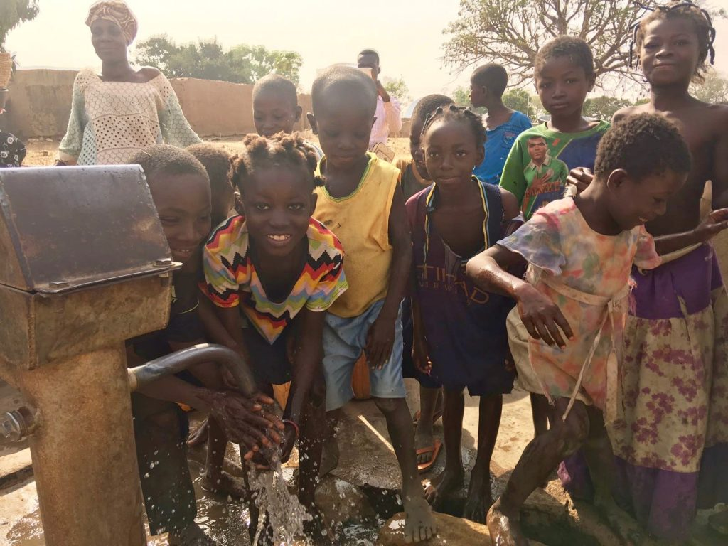 Georgie Badiel foundation for clean water in Africa