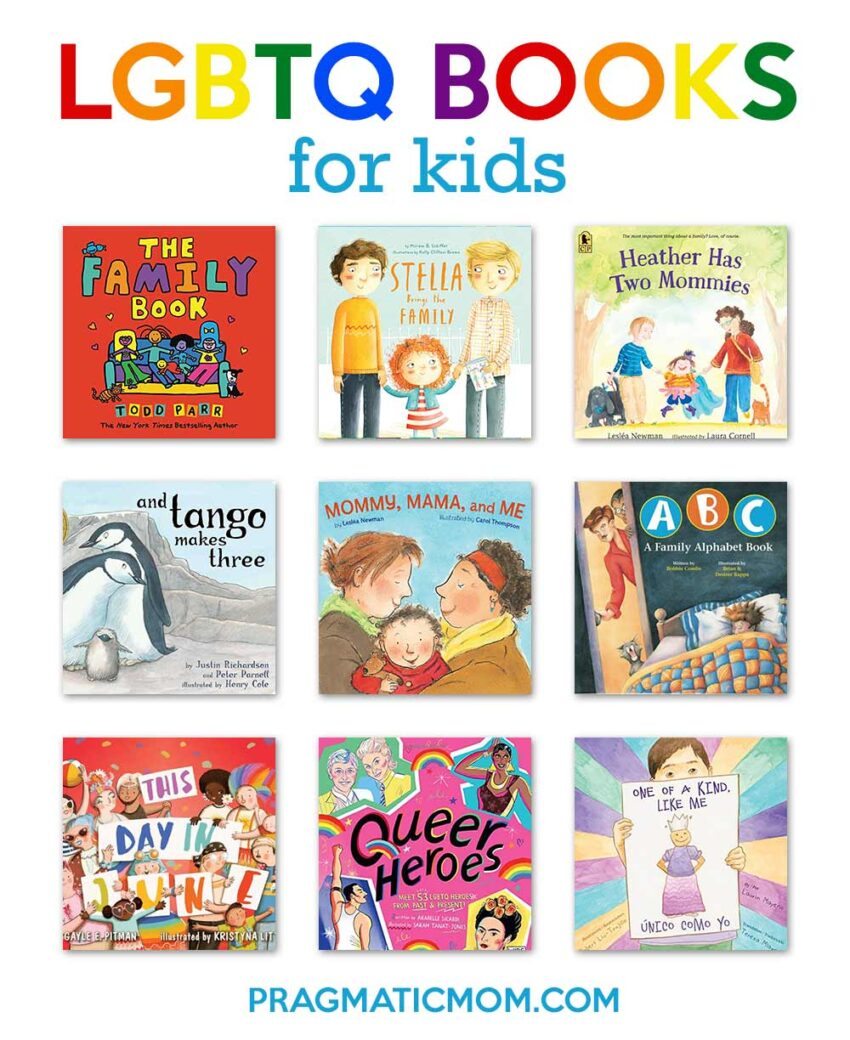 Understanding Transgender with LGBTQ+ Books for Kids