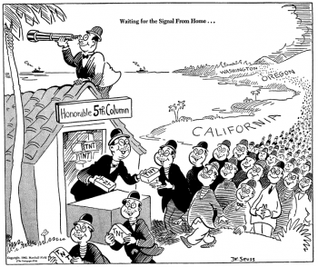 Dr. Seuss anti Japanese American cartoon