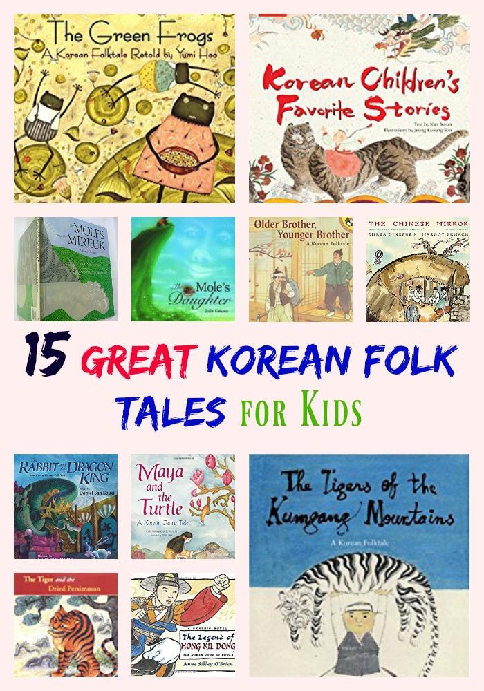 15 Great Hair Updos For Thanksgiving: 15 Great Korean Folk Tales For Kids