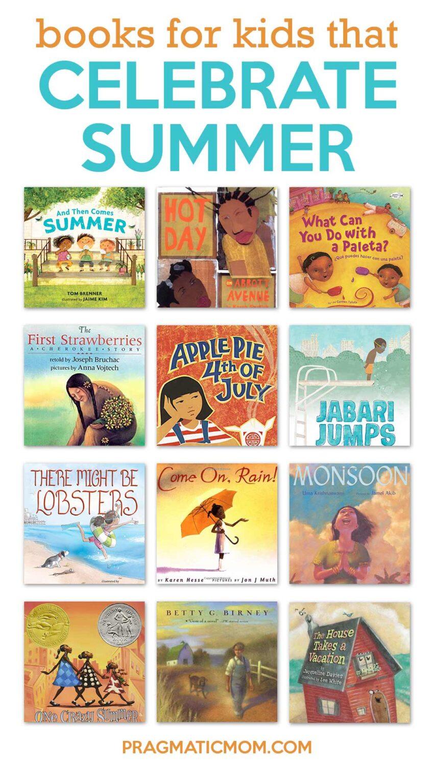 Books for Kids Celebrating Summer