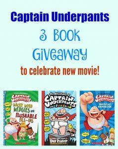 Captain Underpants 3 book giveaway