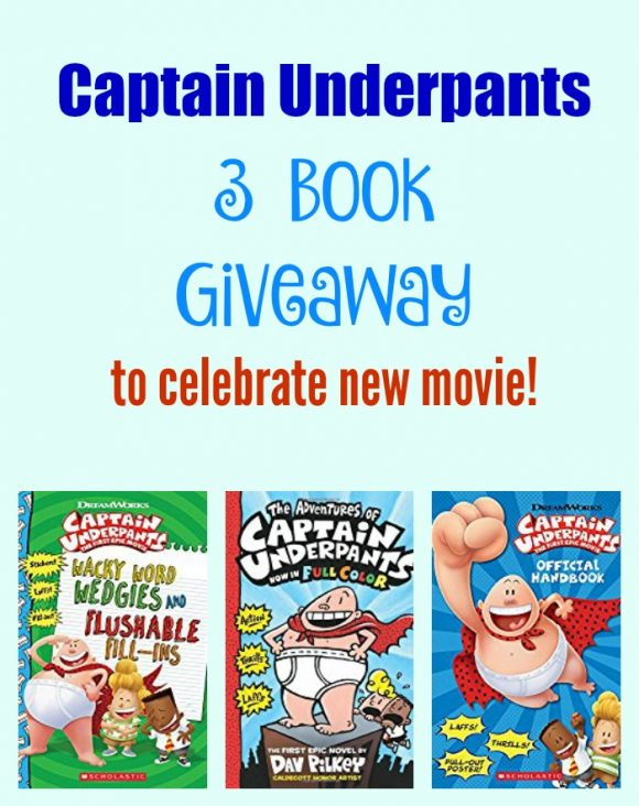 Captain Underpants 3 book giveaway