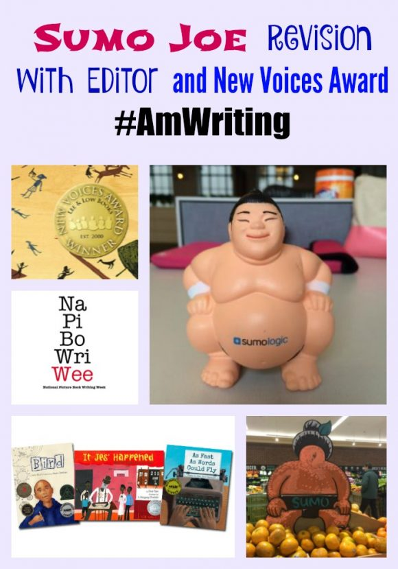 #AmWriting Sumo Joe revisions with editor