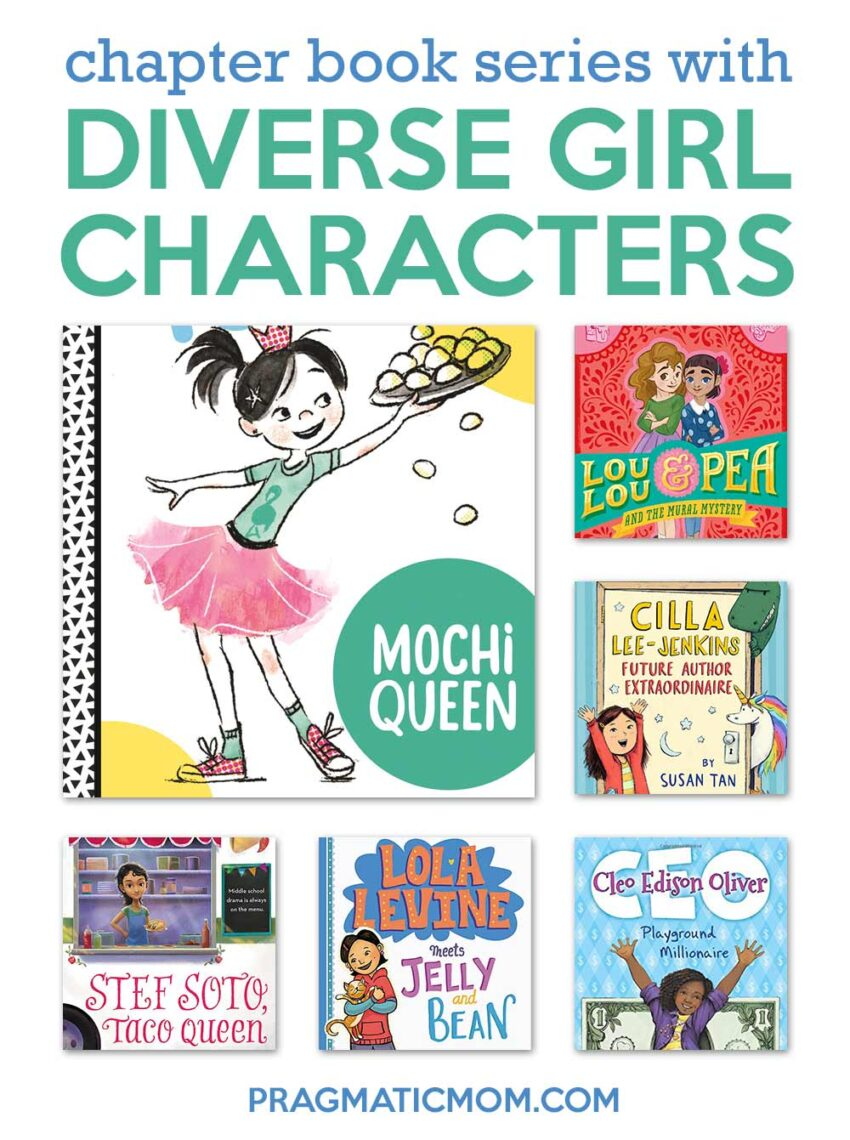 Chapter Book Series Starring Diverse Girl Characters