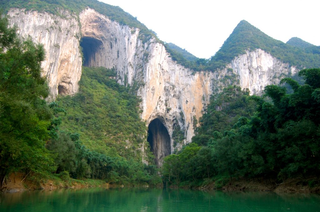 Caves in Southern China