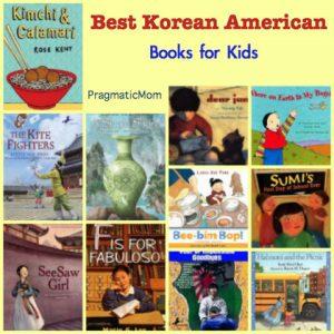 favorite Korean American books for kids