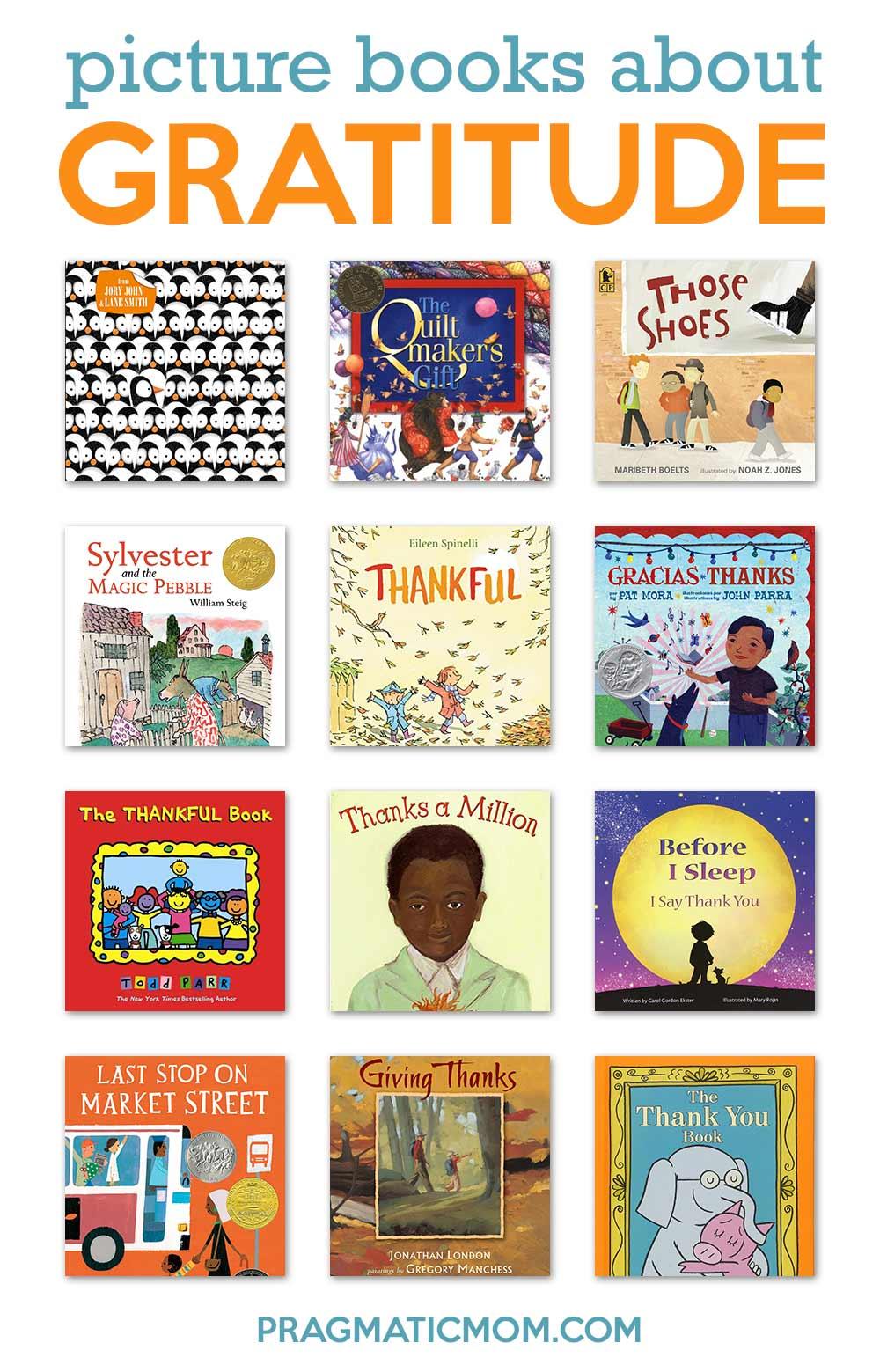 Picture books about gratitude