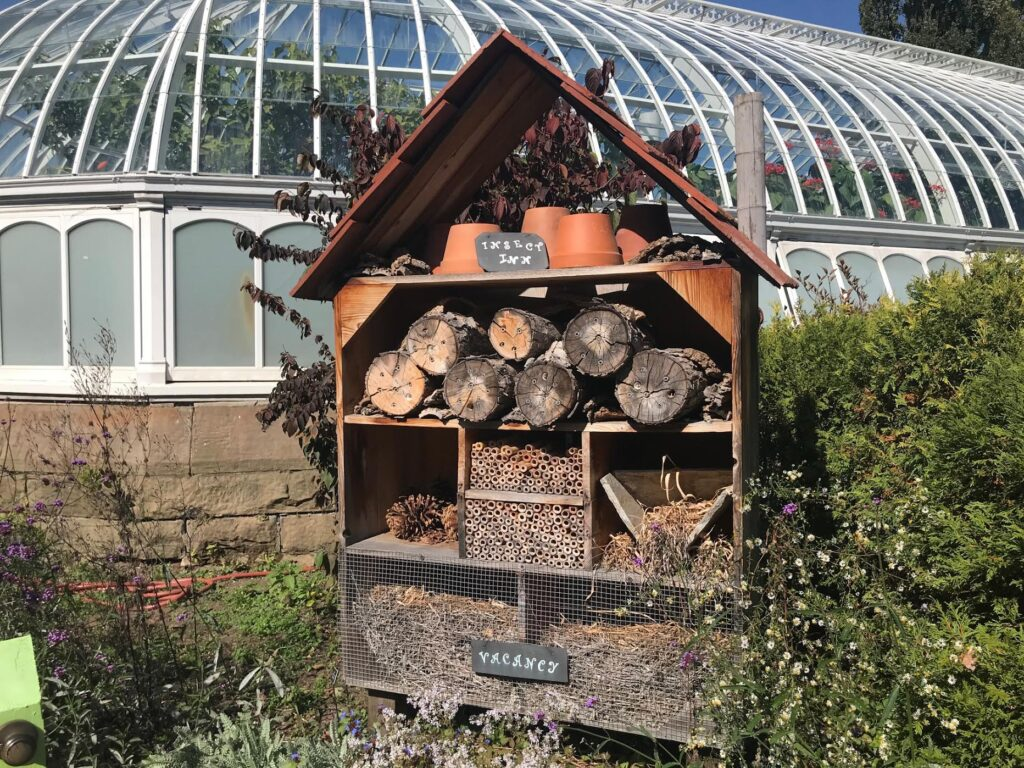 Bee House at Phipps Conservatory and Botanical Gardens in Pittsburgh
