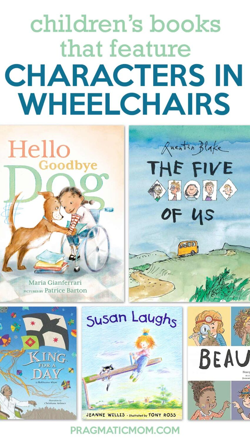 Children's Books that Feature Characters in Wheelchairs
