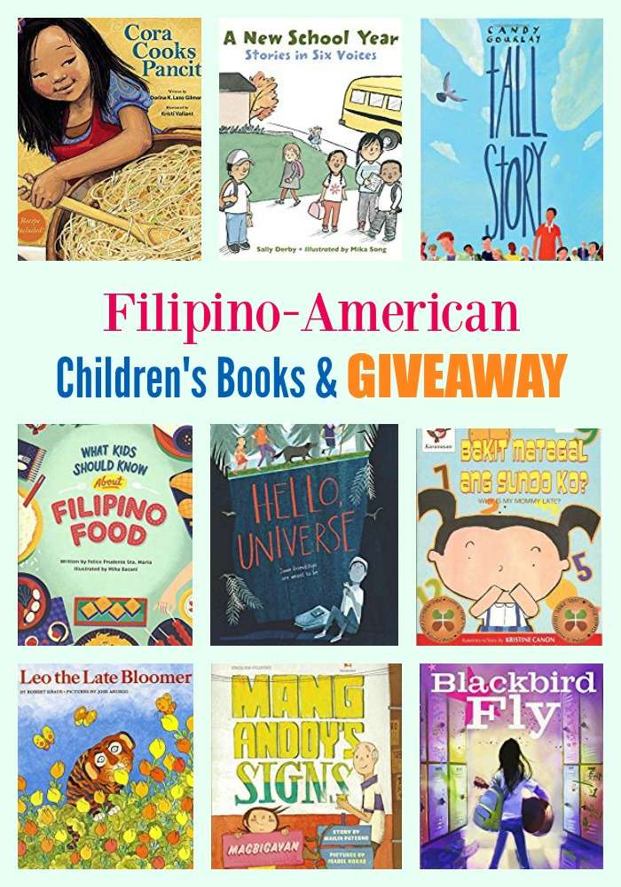 Filipino-American Children's Books & GIVEAWAY
